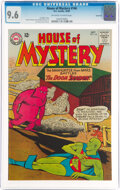 Silver Age (1956-1969):Science Fiction, House of Mystery #146 Savannah Pedigree (DC, 1964) CGC NM+ 9.6 Off-white to white pages....