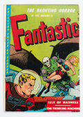 Golden Age (1938-1955):Horror, Fantastic #8 (Youthful Magazines, 1952) Condition: VG/FN....