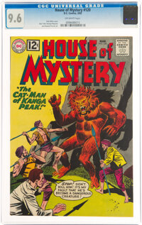 House of Mystery #120 (DC, 1962) CGC NM+ 9.6 Off-white pages
