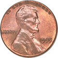 Lincoln Cents, 1955 1C Doubled Die Obverse, FS-101, MS63 Red and Brown PCGS....