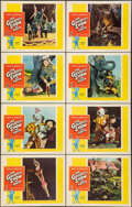 """Movie Posters:Drama, The Greatest Show on Earth & Other Lot (Paramount, R-1960). Very Fine-. Lobby Card Set of 8 (11"""" X 14"""") & One Sheet (27"""" X 4... (Total: 9 Items)"""
