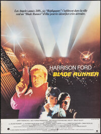"""Blade Runner (Warner Bros., 1982). Folded, Very Fine-. French Petite (15.25"""" X 20.25""""). Science Fiction"""