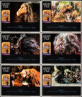 """Movie Posters:Fantasy, The Dark Crystal & Other Lot (Universal, 1982). Very Fine+. Lobby Cards (8) (11"""" X 14"""") Richard Amsel Border Artwork...."""