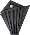 """Movie/TV Memorabilia:Props, The Nightmare Before Christmas Large Scale """"Town Hall"""" Facade Set Piece (Touchstone, 1993). ..."""