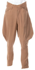 Movie/TV Memorabilia:Costumes, Clark Gable (2) Pairs of Personal Riding Pants from