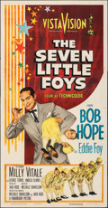 """Movie Posters:Musical, The Seven Little Foys (Paramount, 1955). Folded, Very Fine-. Three Sheet (41"""" X 74""""). Musical.. ..."""