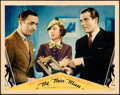 """Movie Posters:Mystery, The Thin Man (MGM, 1934). Very Fine+. Lobby Card (11"""" X 14""""). . ..."""