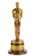 Movie/TV Memorabilia:Awards, Willis O'Brien's Oscar for Best Special Effects for