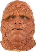 """Movie/TV Memorabilia:Costumes, Michael Chiklis """"The Thing"""" Production Cowl with Screen Used Facial Prosthetics from Fantastic 4"""