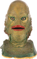 """Movie/TV Memorabilia:Costumes, """"Gill Man"""" Studio Mold Display Casting from Creature from the Black Lagoon (Universal, 1954/cast in1970s). ..."""