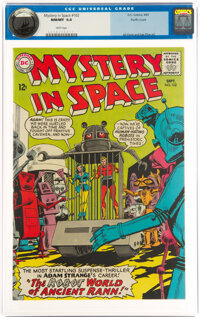 Mystery in Space #102 Pacific Coast Pedigree (DC, 1965) CGC NM/MT 9.8 White pages