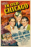 """Movie Posters:Drama, In Old Chicago (20th Century Fox, 1937). Very Good- on Linen. One Sheet (27"""" X 41"""") Style A, Frederic C. Madan Artwork.. ..."""