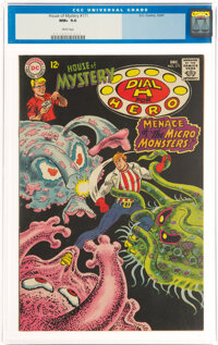 House of Mystery #171 (DC, 1967) CGC NM+ 9.6 White pages