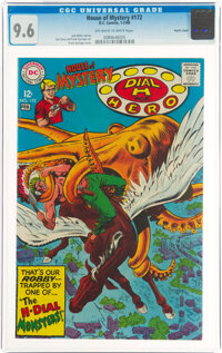 House of Mystery #172 Pacific Coast Pedigree (DC, 1968) CGC NM+ 9.6 Off-white to white pages