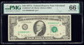 Small Size:Federal Reserve Notes, Fr. 2024-D* $10 1977A Federal Reserve Star Note. PMG Gem Uncirculated 66 EPQ.. ...