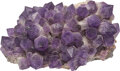 Carvings, Bolivian Gem Cluster. Amethyst. 27 x 17 x 12-1/2 inches (68.6 x 43.2 x 31.8 cm). ...