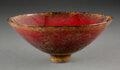 Carvings, James Lovera (American, 1920-2015). Bowl, circa 1995. Porcelain. 3-1/2 x 8-1/2 inches (8.9 x 21.6 cm). Incised lovera ...