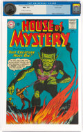 Silver Age (1956-1969):Science Fiction, House of Mystery #138 Pacific Coast Pedigree (DC, 1963) CGC NM+ 9.6 Off-white to white pages....