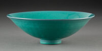 James Lovera (American, 1920-2015) Bowl Porcelain 2-1/2 x 7-3/4 inches (6.4 x 19.7 cm) Incised lovera to undersi