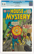 Silver Age (1956-1969):Science Fiction, House of Mystery #129 (DC, 1962) CGC NM 9.4 Off-white to white pages....