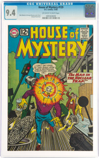 House of Mystery #129 (DC, 1962) CGC NM 9.4 Off-white to white pages