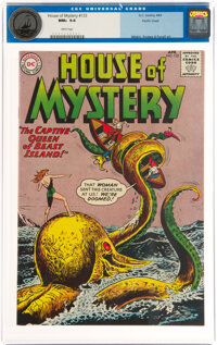 House of Mystery #133 Pacific Coast Pedigree (DC, 1963) CGC NM+ 9.6 White pages
