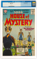 Silver Age (1956-1969):Science Fiction, House of Mystery #53 White Mountain Pedigree (DC, 1956) CGC NM 9.4 White pages....