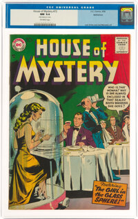 House of Mystery #72 Bethlehem Pedigree (DC, 1958) CGC NM 9.4 Off-white pages