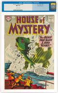 Silver Age (1956-1969):Science Fiction, House of Mystery #86 White Mountain Pedigree (DC, 1959) CGC NM 9.4 Off-white pages....
