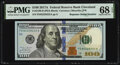 Small Size:Federal Reserve Notes, Repeater Serial Number 82228222 Fr. 2189-D $100 2017A Federal Reserve Note. PMG Superb Gem Unc 68 EPQ.. ...