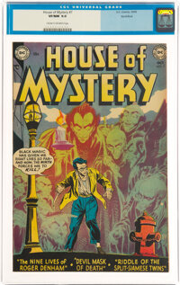 House of Mystery #7 Northford Pedigree (DC, 1952) CGC VF/NM 9.0 Cream to off-white pages