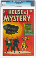 Golden Age (1938-1955):Horror, House of Mystery #9 Northford Pedigree (DC, 1952) CGC VF+ 8.5 Off-white pages....
