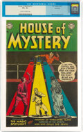 Silver Age (1956-1969):Horror, House of Mystery #21 Northford Pedigree (DC, 1953) CGC VF+ 8.5 Cream to off-white pages....