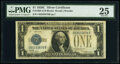 Small Size:Silver Certificates, Fr. 1603 $1 1928C Silver Certificate. C-B Block. PMG Very ...