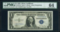 Small Size:Silver Certificates, Fr. 1607* $1 1935 Mule Silver Certificate Star. PMG Choice...