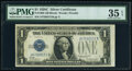 Small Size:Silver Certificates, Fr. 1603 $1 1928C Silver Certificate. J-B Block. PMG Choic...