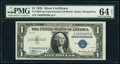 Small Size:Silver Certificates, Low Serial Number 30 Fr. 1607 $1 1935 Silver Certificate. ...