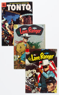 Lone Ranger Group of 23 (Dell, 1954-56) Condition: Average VG+.... (Total: 23 Items)