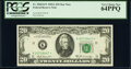 Small Size:Federal Reserve Notes, Fr. 2068-K* $20 1969A Federal Reserve Star Note. PCGS Very...