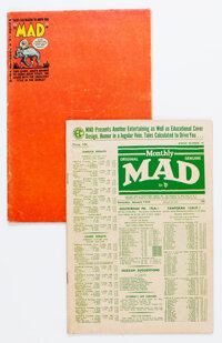 MAD #13 and 19 Group (EC, 1954-55) Condition: Average VG-.... (Total: 2 Comic Books)