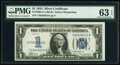 Small Size:Silver Certificates, Fr. 1606 $1 1934 Silver Certificate. PMG Choice Uncirculat...