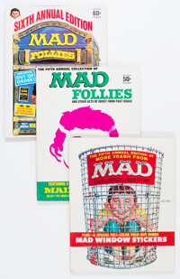 MAD Specials Group of 10 (EC, 1962-80) Condition: Average FN/VF.... (Total: 10 Items)