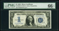Small Size:Silver Certificates, Fr. 1606 $1 1934 Silver Certificate. PMG Gem Uncirculated ...