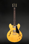 Musical Instruments:Electric Guitars, 1958 Gibson ES-335 Natural Semi-Hollow Body Electric Guita...