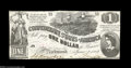 Confederate Notes:1862 Issues, T44 $1 1862. A much better centered example than normally ...