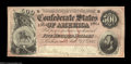 Confederate Notes:1864 Issues, T64 $500 1864. This lovely note appears Uncirculated at ...