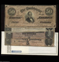 Confederate Notes:Group Lots, Confederate Group Lot.