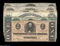 Confederate Notes:Group Lots, CSA Starter Set.