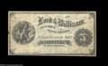 Obsoletes By State:Arizona, Tucson, AZ- Lord & Williams 5¢ A very rare piece of ...