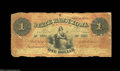Obsoletes By State:Iowa, Muscatine, IA- State Bank of Iowa $1 Oct. 1, 1864 G234 ...